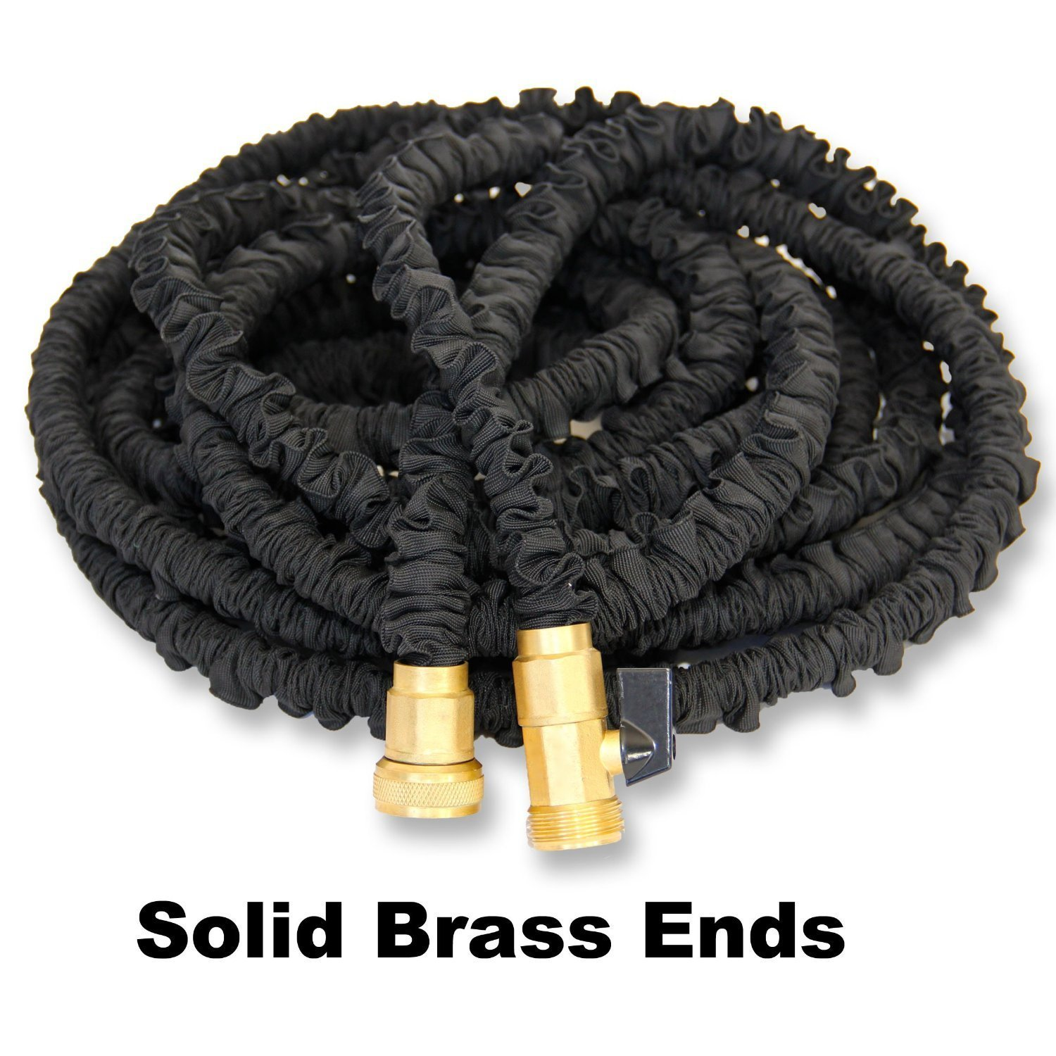 Marvelous Amazon.com : Black Mamba, Updated And Improved, 75u0027, Expanding Garden Hose,  Double Latex Core, Reinforced Fabric Cover, Brass Fittings, Includes 8  Position ...