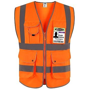 Gilet Alta Visibilità Arancione JKSafety M