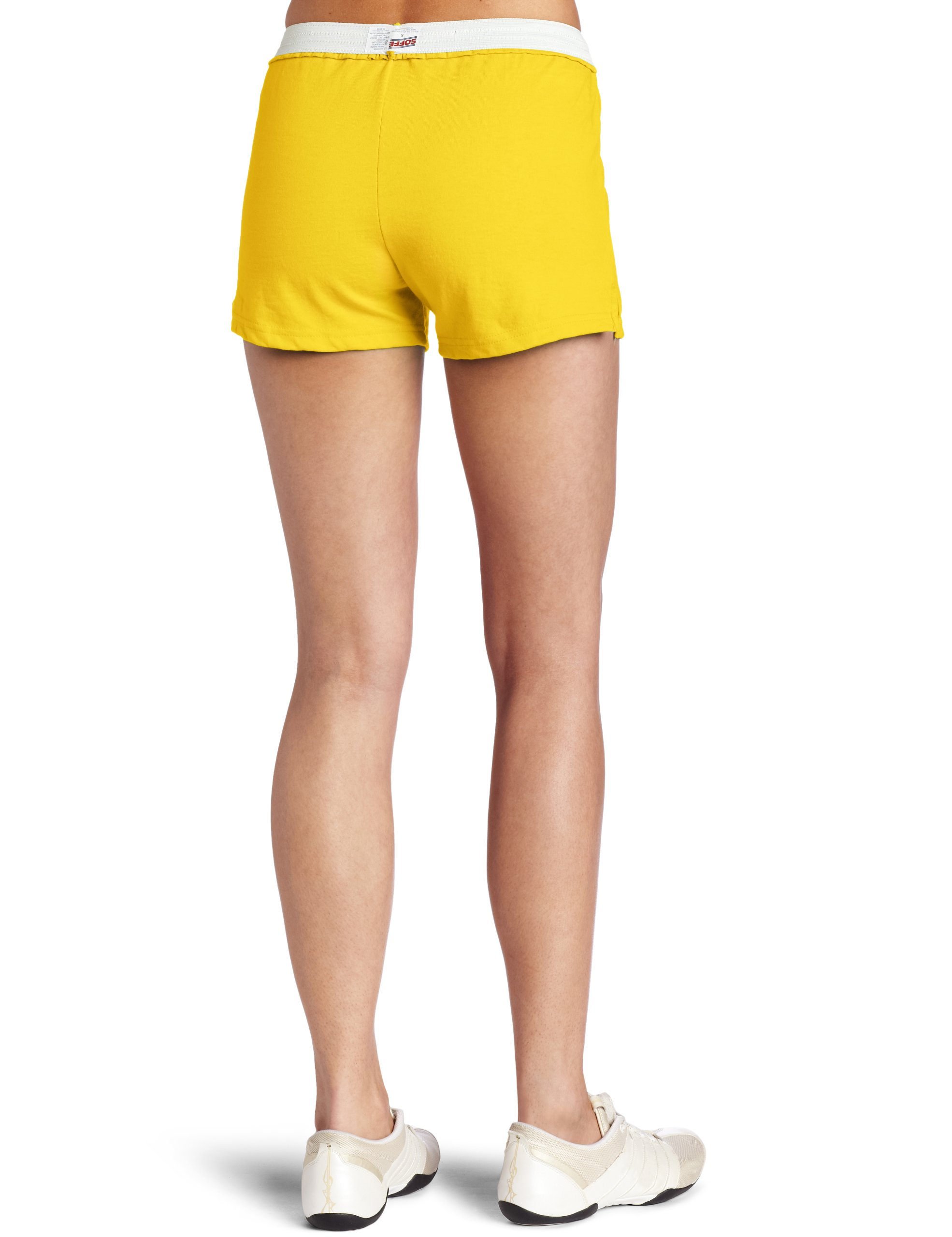 Soffe Juniors Athletic Short, Gold, X-Small