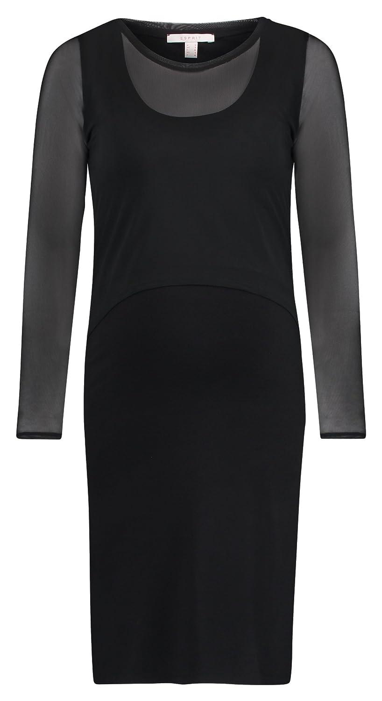 Esprit Maternity Damen Dress Mix Nursing Ls Kleid