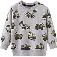 EULLA Sudadera para niño de algodón Activewear 92-122, 1-7 años