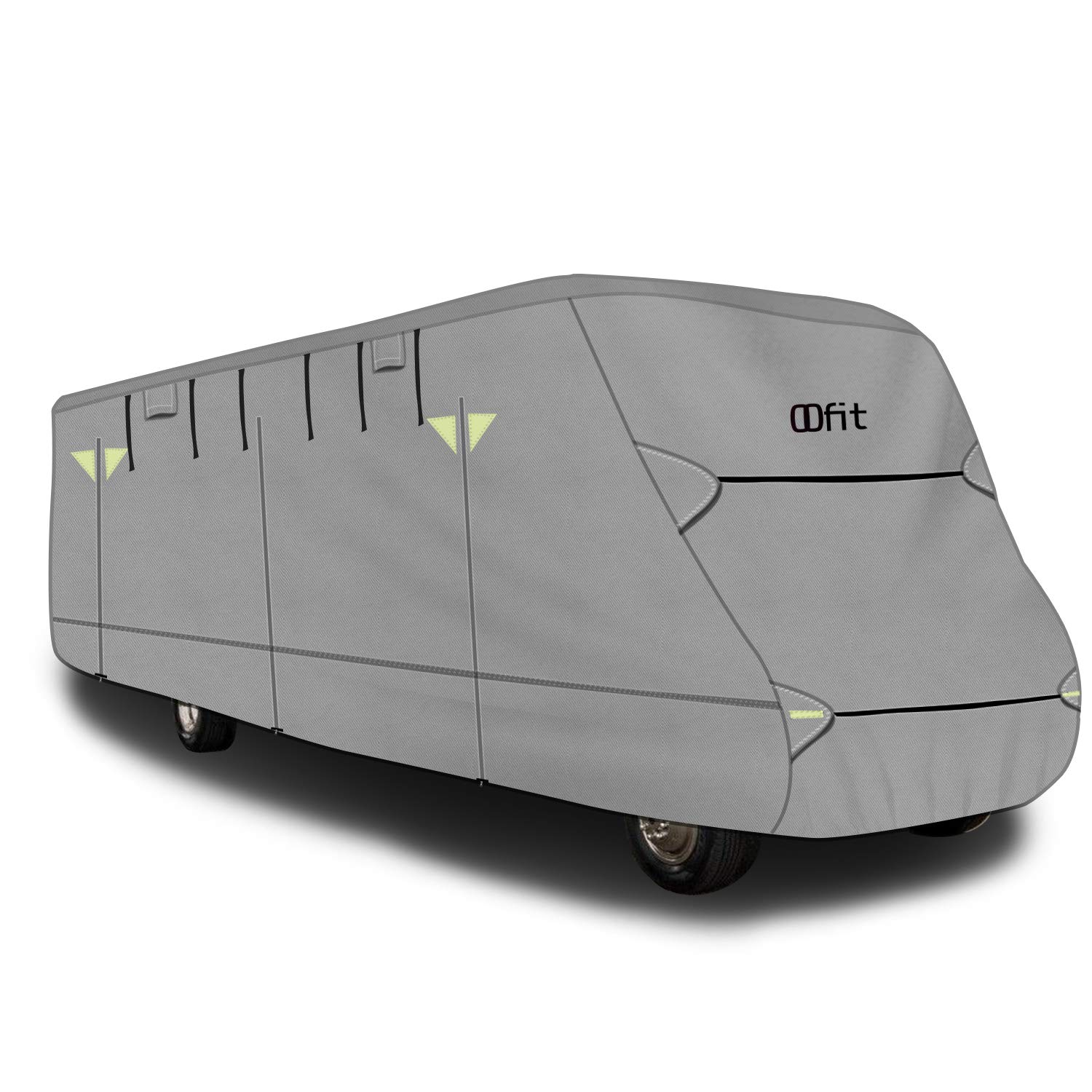 OOFIT Extra-Thick 4-ply Class C Motorhome RV Cover, Fits 26' - 29' RVs, Breathable Anti-UV Motorhome Cover with Adhesive Repair Patch & Storage Bag by OOFIT