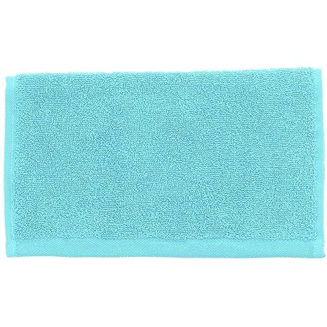 Toallas de invitados 30 x 50 cm 450 gr/m², azul turquesa, 30