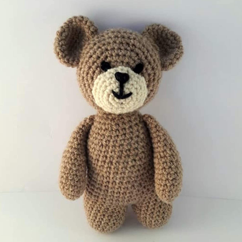 Crochet pattern Teddy bear amigurumi | Amiguroom Toys | 1500x1500