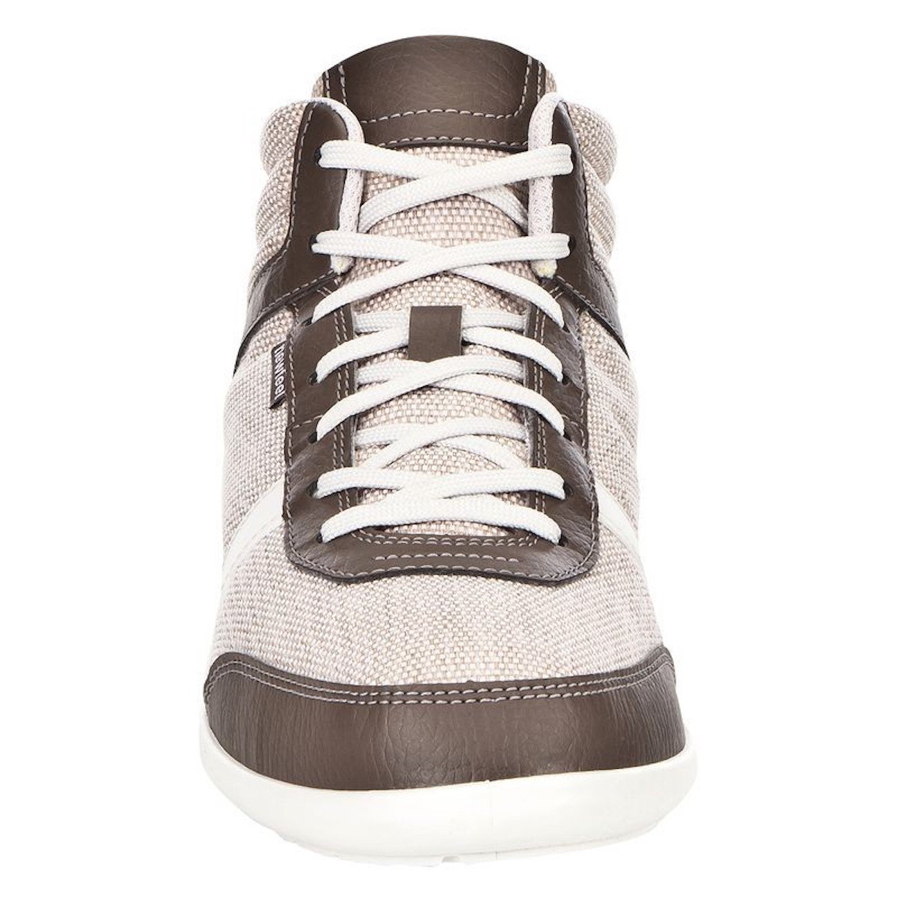 a1f7c3d20c newfeel Many 8298075 Hi Top Sneakers High Top Chaussures de Sport, Chaussures  de Sport EU 40 UK 6.5, Beige, Marron, Blanc, Brown + White - Beige -  Beige,: ...