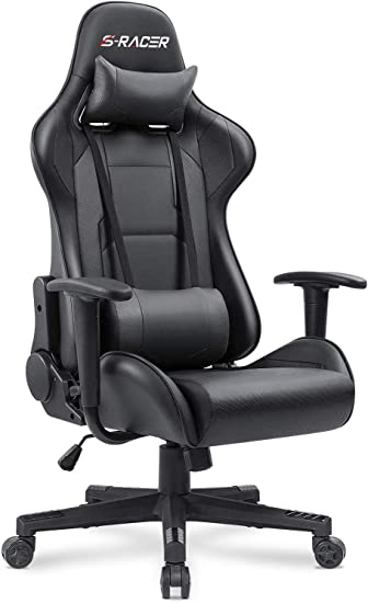 Homall Gaming, Office High Back Reclining Chair - Multi-Functional