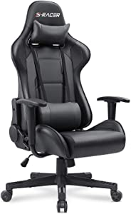 Homall Gaming Chair with Headrest and Lumbar Support
