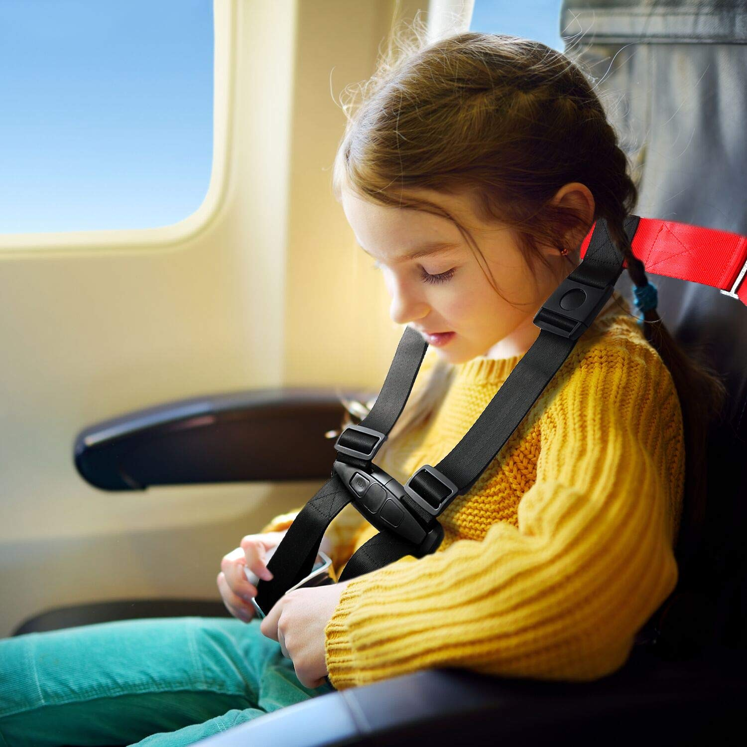 Toddler Airplane Harness Fly Safe Travel for Baby Infant Kids Newborn Child by JOYNCLEON (Image #4)