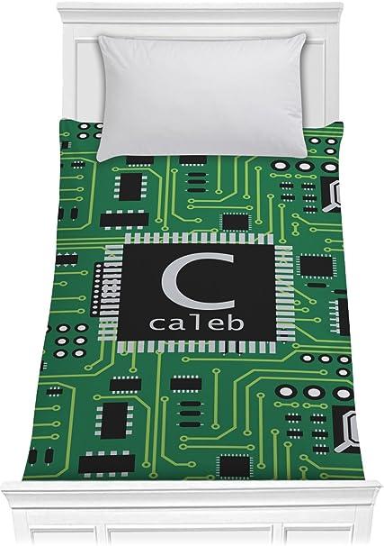 Amazon com: RNK Shops Circuit Board Comforter - Twin