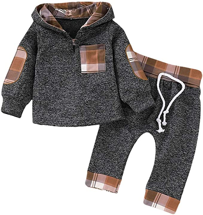 Toddler Boy Girl Kids Cotton Clothes Sweatshirt Hoodies Jacket Coat Outwear Tops