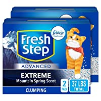 Fresh Step Advanced Clean Paws Clumping Cat Litter 37 lb