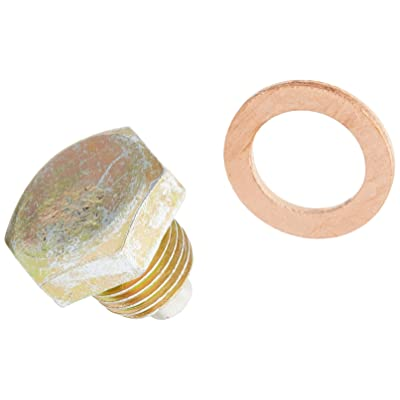 "Milodon 17000 1/2-20"" Magnetic Drain Plug: Automotive"