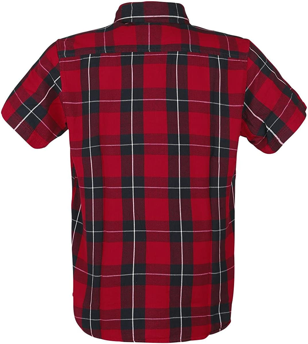 Dickies Lockesburg Short Sleeve Shirt Small Red
