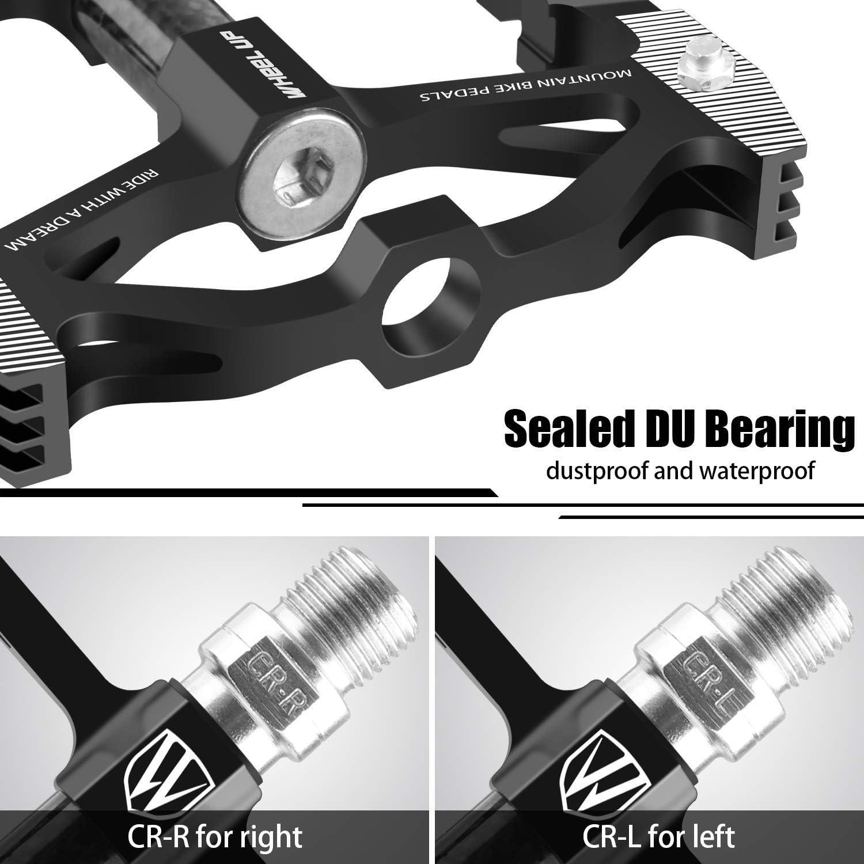 Aluminium Alloy Road Bike pedals Platform BMX MTB Bicycle pedals Sealed Bearing
