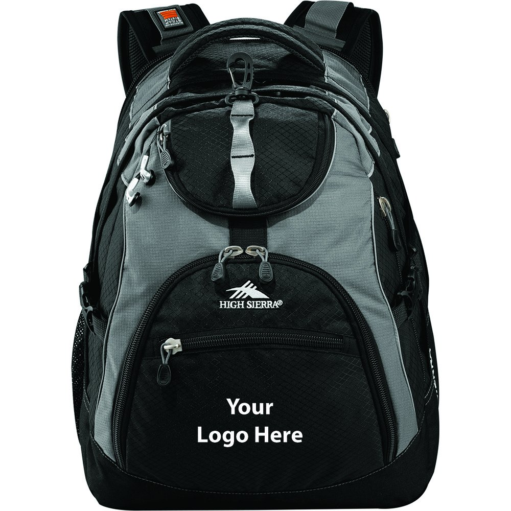 High Sierra Access 17'' Computer Backpack - 12 Quantity - $71.30 Each - PROMOTIONAL PRODUCT / BULK / BRANDED with YOUR LOGO / CUSTOMIZED