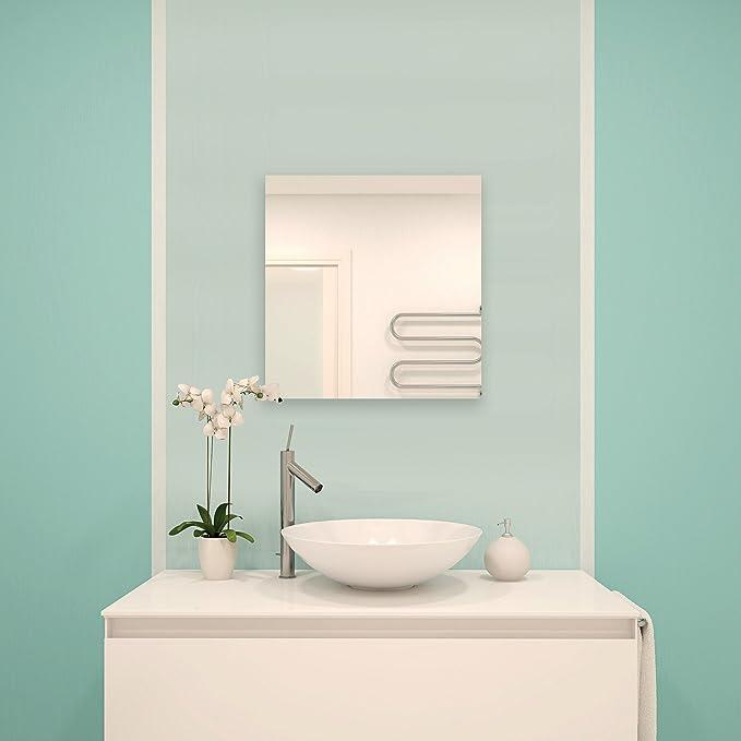 MSV Spiegel Spiegelfliesen Wandspiegel Fliesenspiegel Selbstklebend 3 Stück    30x30cm: Amazon.de: Küche U0026 Haushalt