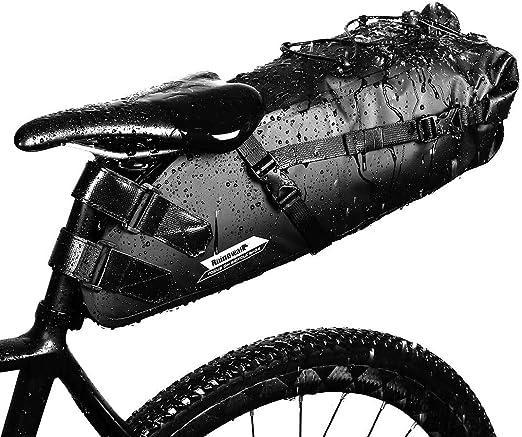 adatto per biciclette da strada da 66 cm e superiori. supporto pieghevole e regolabile Borsa portaoggetti per bicicletta cavalletto a doppia gamba