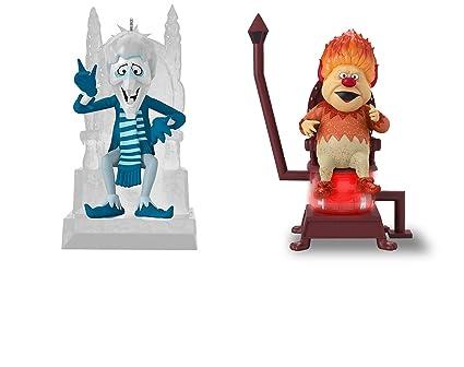 Hallmark Snow Miser & Heat Miser Year Without a Santa Claus Christmas  Ornament Set ... - Amazon.com: Hallmark Snow Miser & Heat Miser Year Without A Santa