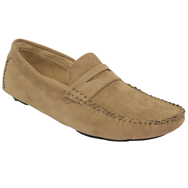 Hommes Mocassins Cuir Daim Look Chaussures Bateau À Enfiler Mocassins À Glands  Élégant Formel: Amazon.fr: Chaussures et Sacs