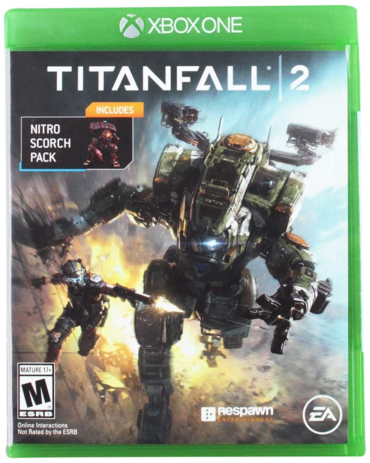 Titanfall 2 with Bonus Nitro Scorch Pack - Xbox One