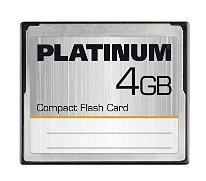 Platinum - Tarjeta de Memoria CF Card Compact Flash 4 GB: Amazon ...