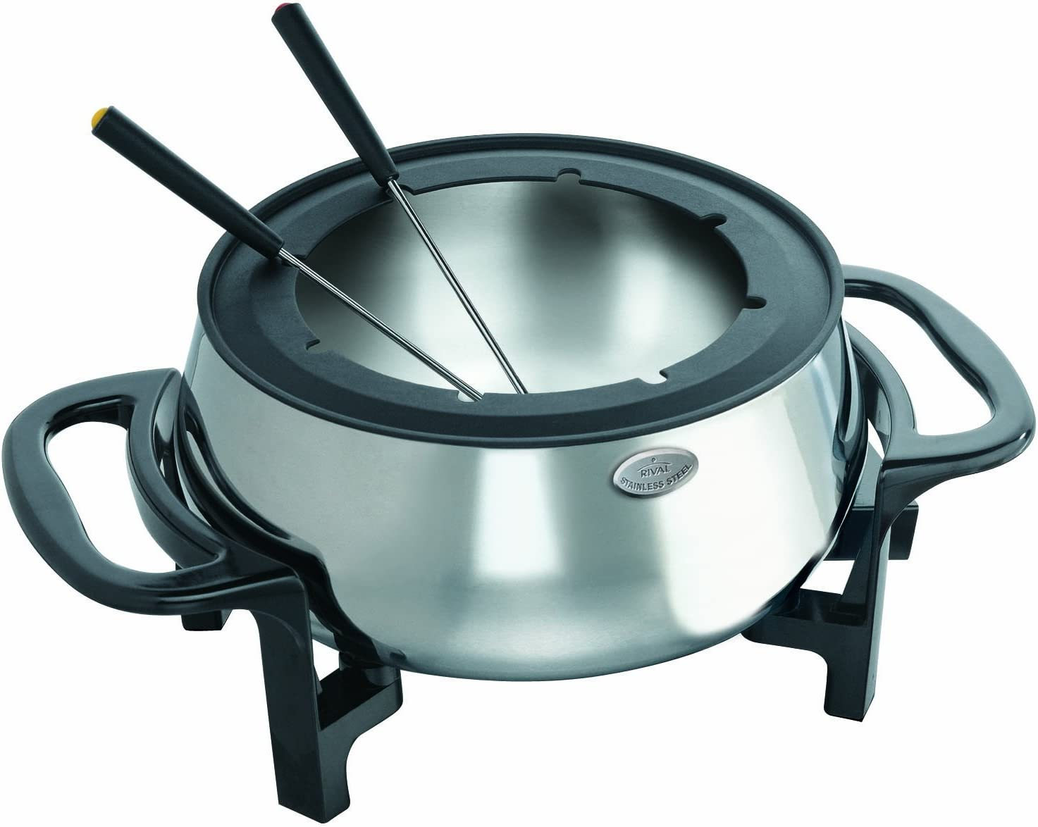 Rival Stainless Steel Electric Fondue Pot Set
