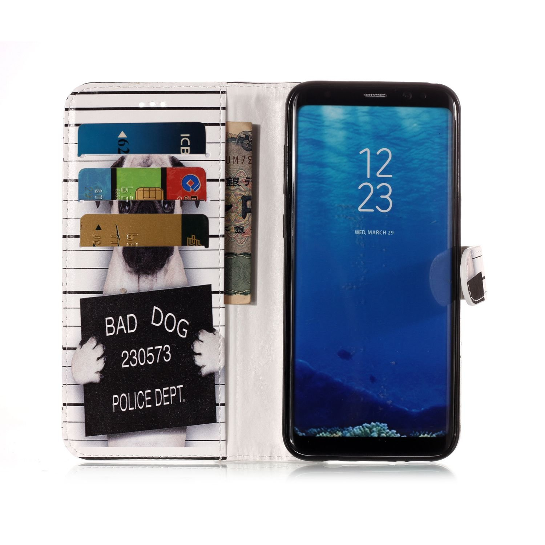 Huphant Compatible for Samsung S8 H/ülle Samsung Galaxy S8 Handy H/ülle Marble Schwarz Flip Schutzh/ülle Wallet Case f/ür Samsung Galaxy S8 Kartenf/ächer Magnet Flip Wallet Case Ros/égold wei/ß