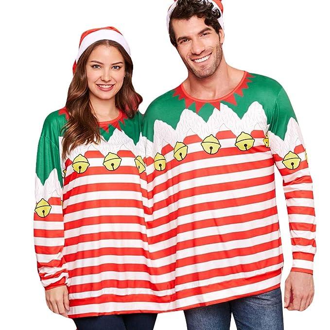 Goosun Jersey Navidad Adulto Novedad Feo para Dos Personas