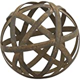 Stonebriar SB-5199A Small Rustic Metal Orb Filler