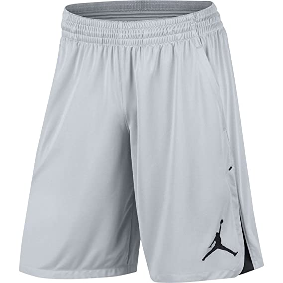 5c4fde96eb6a Jordan Nike 849143-043 23 Alpha Knit Shorts Mens Silver Black - -   Amazon.co.uk  Clothing
