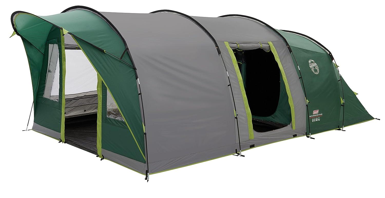 Coleman Pinto Mountain 5 Plus Personen Tunnelzelt Zelt, grün, XL