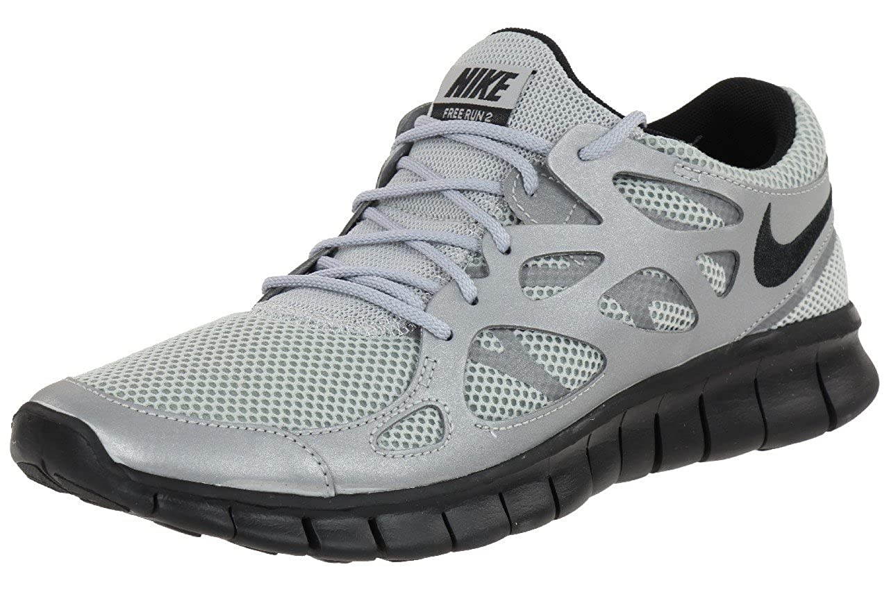 the latest b5674 a4918 Nike Free Run 2 Sneaker Mens Trainer 537732 009 silver, shoe ...