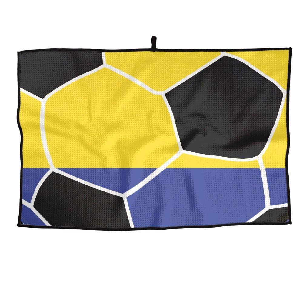 ゲームLife Colombian Flag Football Personalizedゴルフタオルマイクロファイバースポーツタオル   B07FC9BHZ1