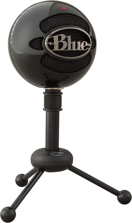 Blue Snowball USB Microphone (Gloss Black)