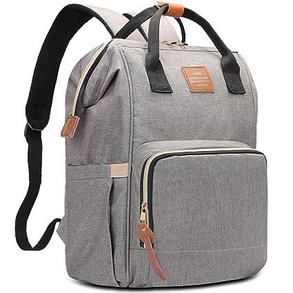HaloVa - Bolsa de pañales multifuncional portátil para viaje, bolsa de pañales para el cuidado