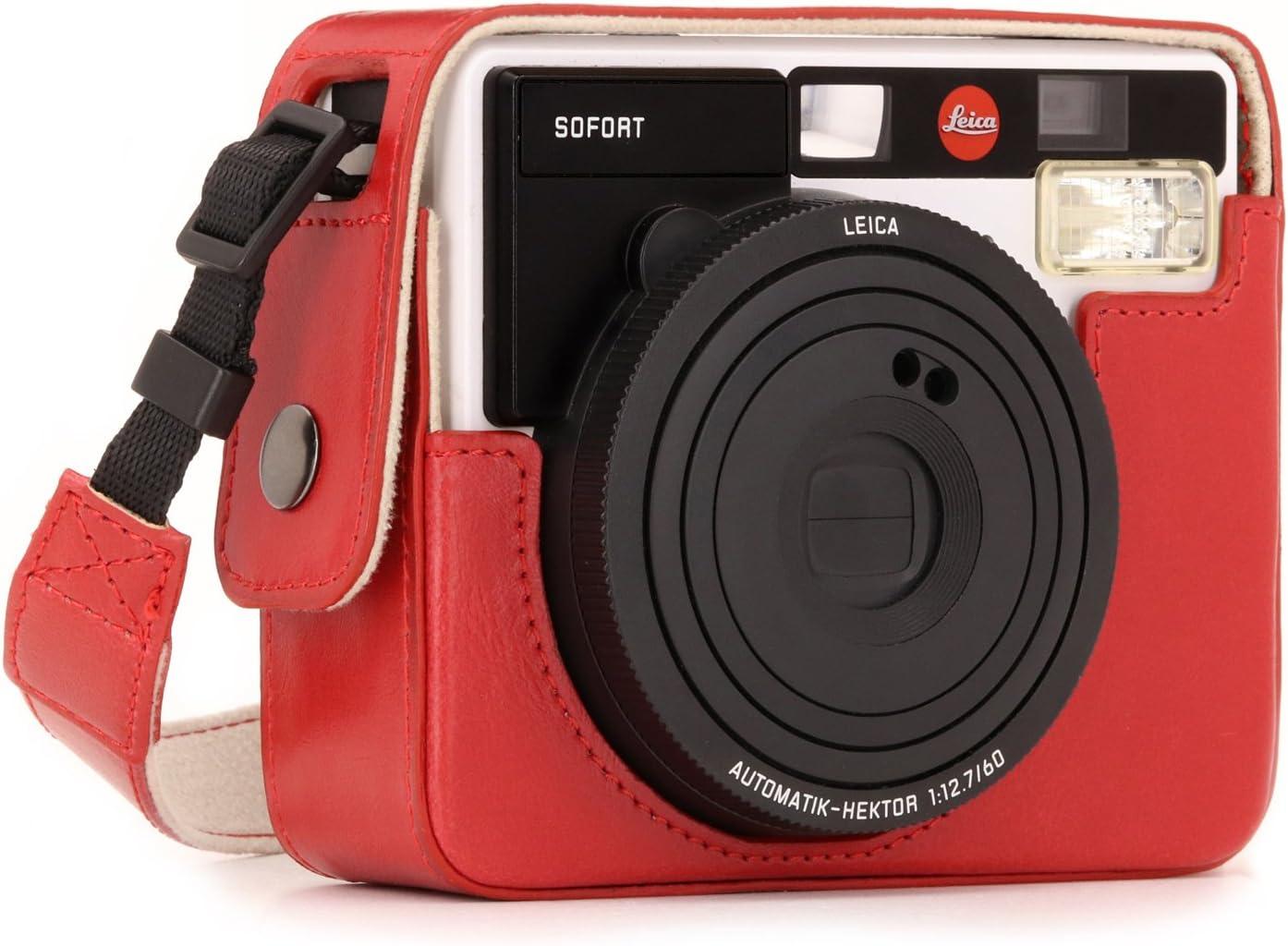 Megagear Ever Ready Leder Kamera Schutzhülle Für Leica Kamera