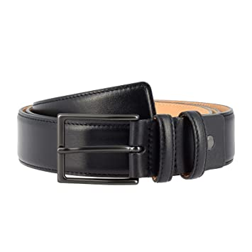 b62d585cc0471 Amazon.com: Nuvola Pelle Mens Full Grain Leather Belt Made in Italy ...
