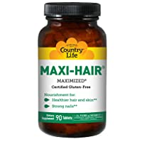 Country Life Maxi Hair 90 Tablets (Multi 2 Pack)