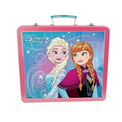 Disney Frozen-Mi Estuche metalico de Escritura, 60 Piezas (CFRO132), (DARPEJE 1): Juguetes y juegos