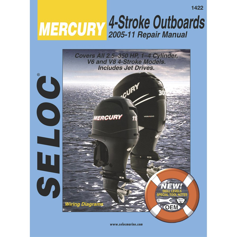 Amazon.com : SELOC SERVICE MANUAL MERCURY & MARINER ALL 4-STROKE 2005-11 :  Sports & Outdoors