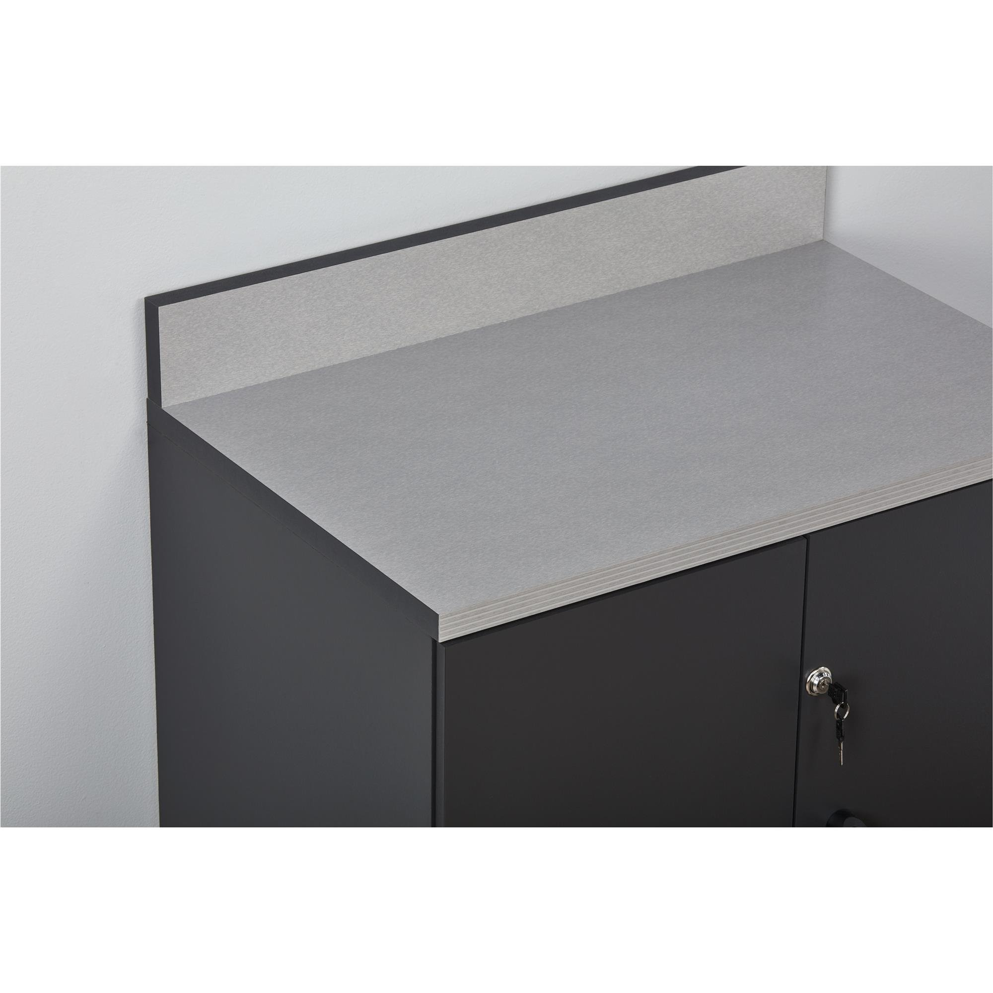 Ameriwood Home Boss -Base Cabinet 2 Door, Charcoal Gray by Ameriwood Home (Image #11)