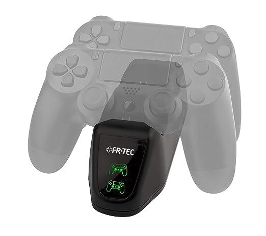 FR·TEC - Dual Charger, Cargador Mandos Doble Dualshock 4 ...