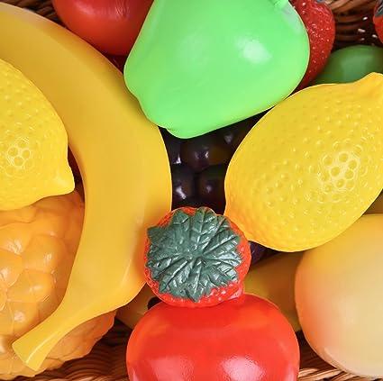 Amazon.com: Bolsa de frutas a tamaño real, set de ...