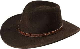 product image for Stetson Men's Sturgis Pinchfront Crushable Wool Felt Hat - Twstgs-813008 Cordova