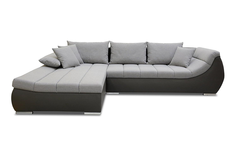 Ecksofa Nextor Eckcouch Sofa Couch Wohnlandschaft Bettfunktion Xxl