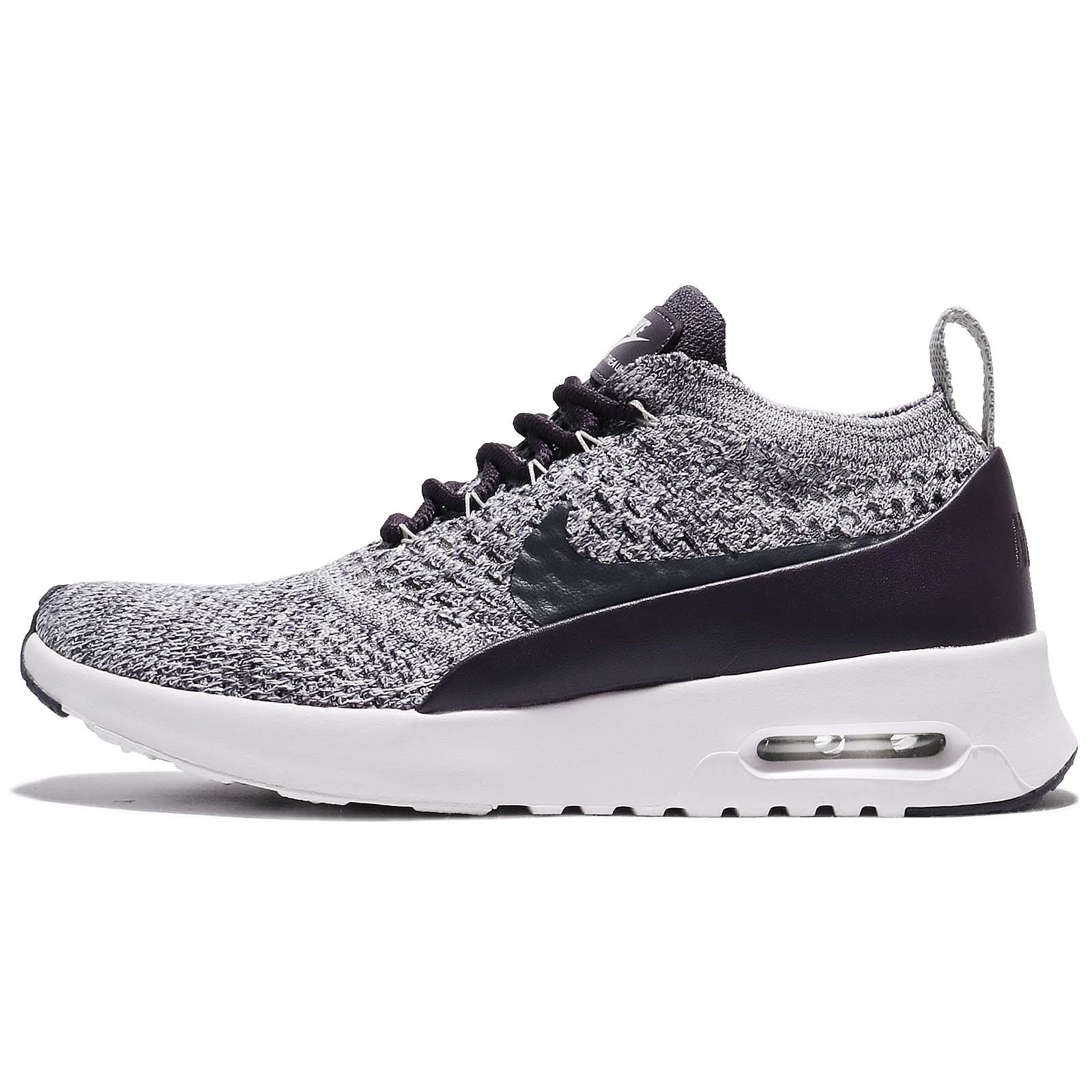 Nike Air Max Thea Ultra Fk Womens Running Trainers 881175 Sneakers Shoes (UK 5 US 7.5 EU 38.5, Dark Raisin White 500)