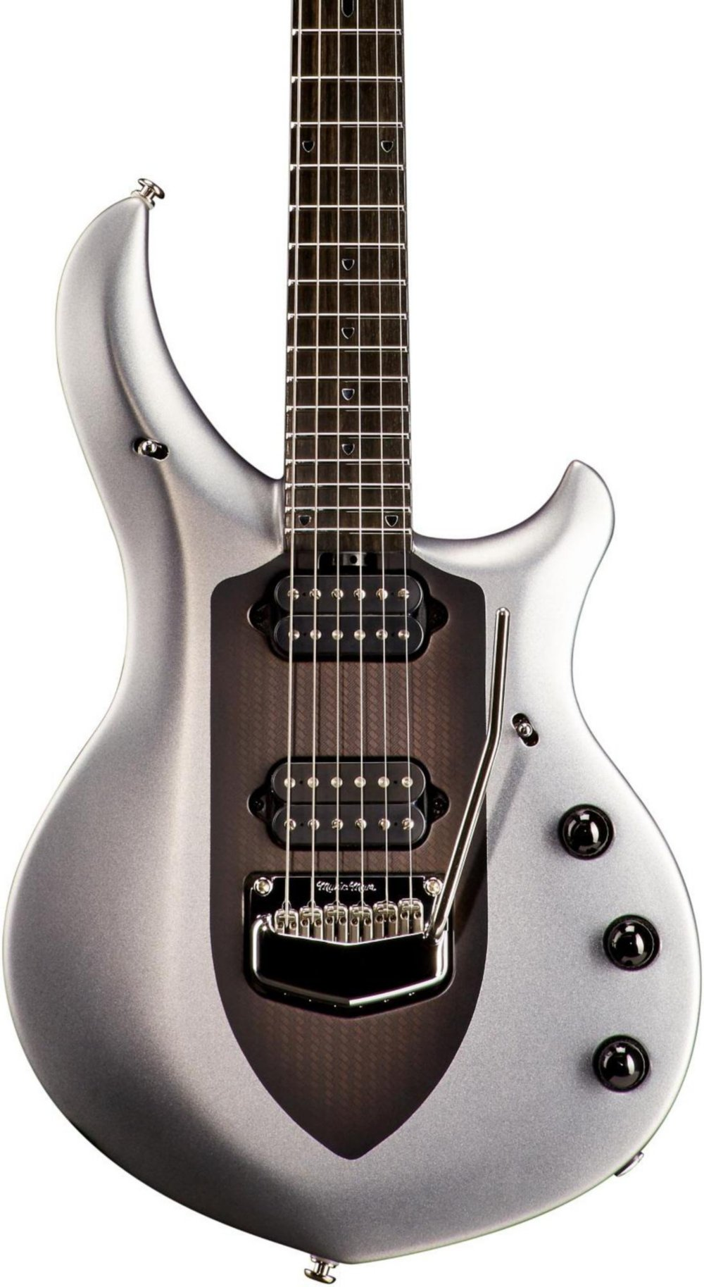 Ernie Ball Music Man John Petrucci Majesty Electric Guitar Silver Lining