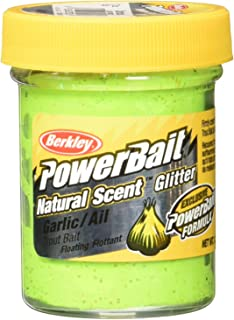 Berkley Powerbait Natural Scent Trout Bait Glitter, Bloodworm Fl Orange