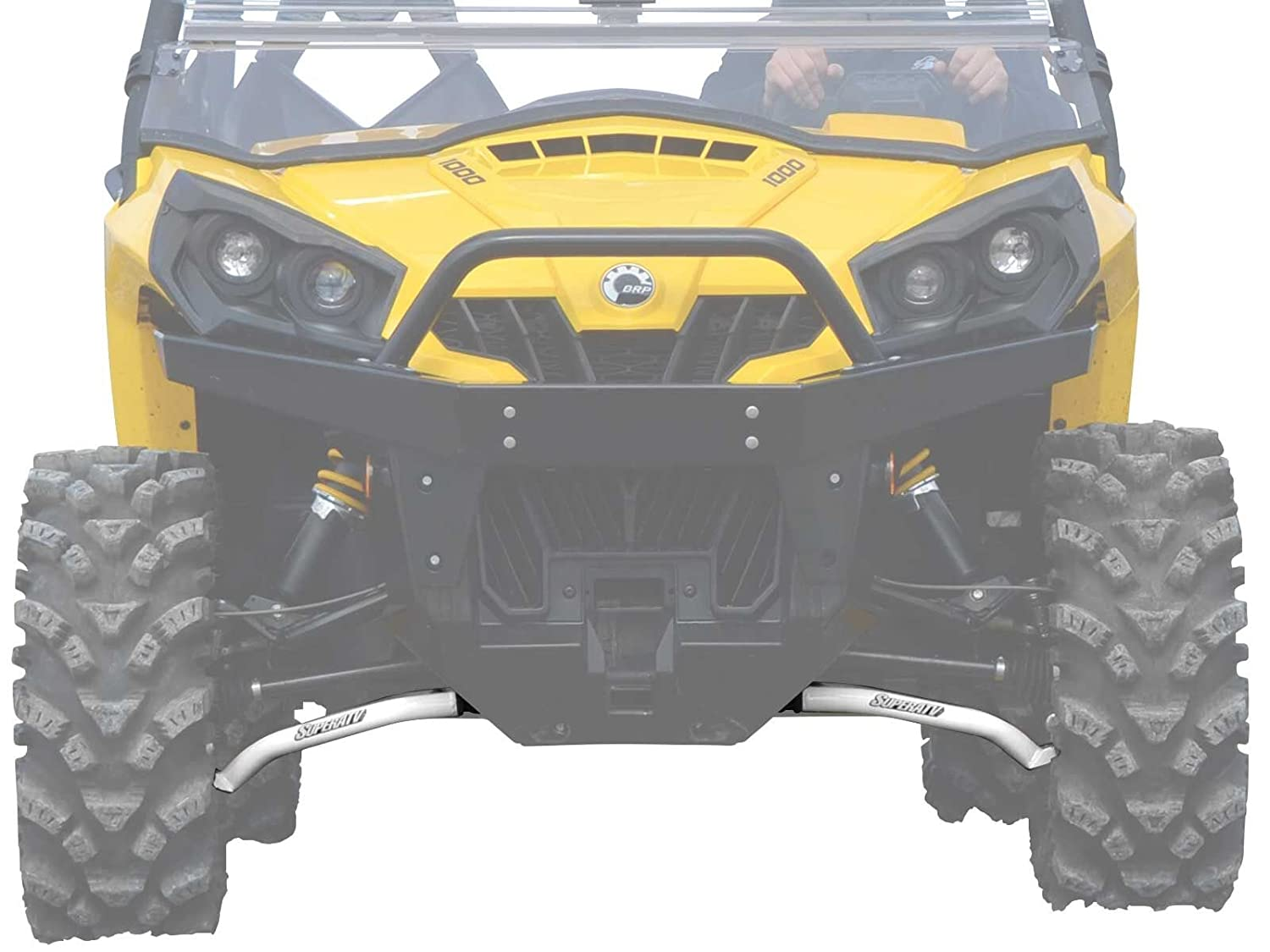 Amazon.com: SuperATV Can-Am Commander 800 / 1000 High Clearance Lower Front  A-Arms (2011+) - Black: Automotive