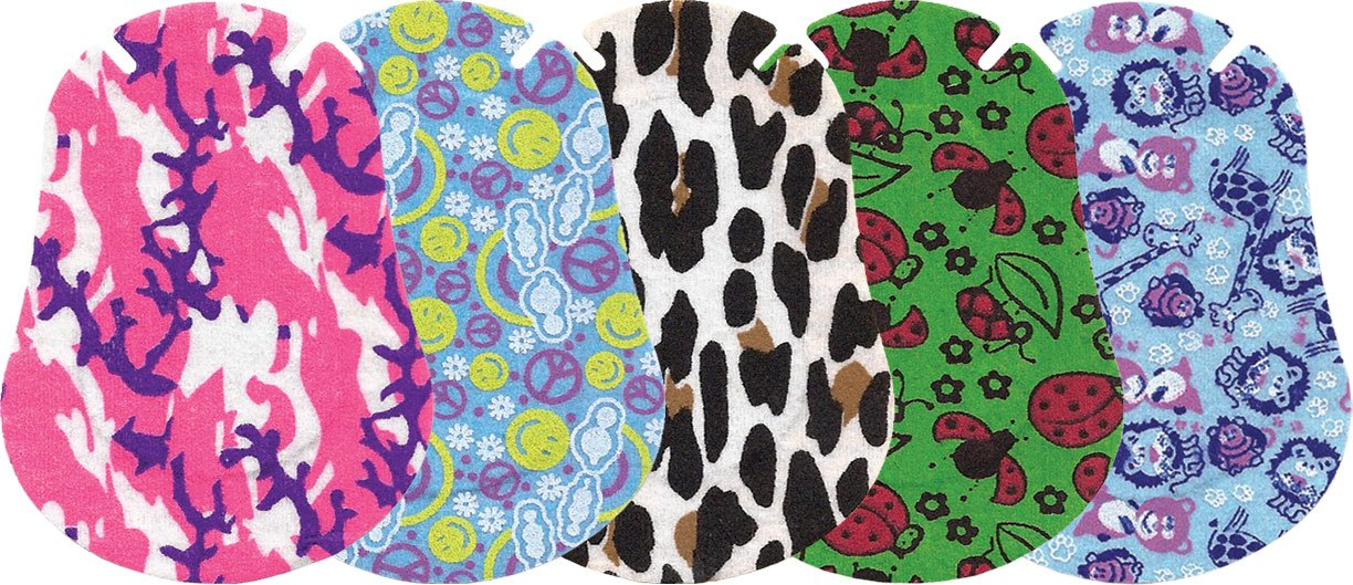 Ortopad Girls Eye Patches - Regular Size (50 Per Box)